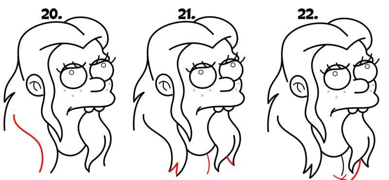 как нарисовать принцессу Бин6