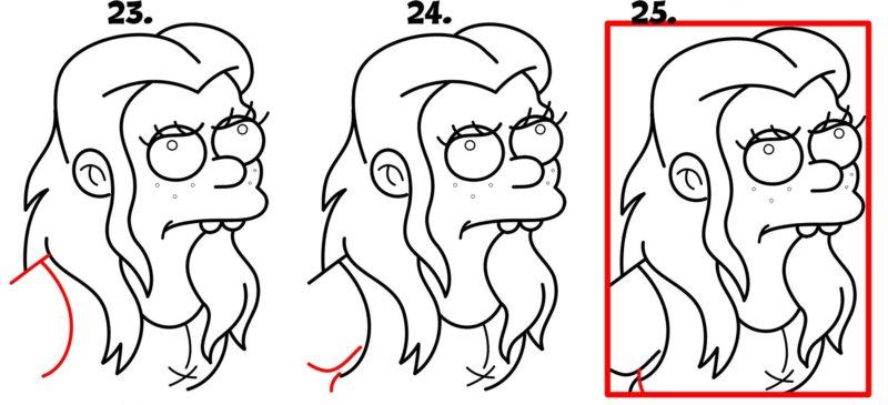 как нарисовать принцессу Бин7