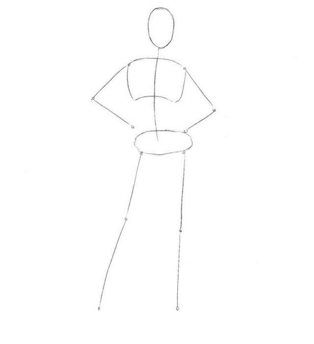 Как нарисовать Черную Канарейку 1