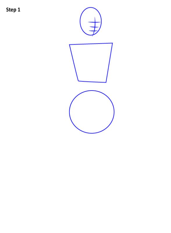 Как нарисовать Джэки Бриггз 1