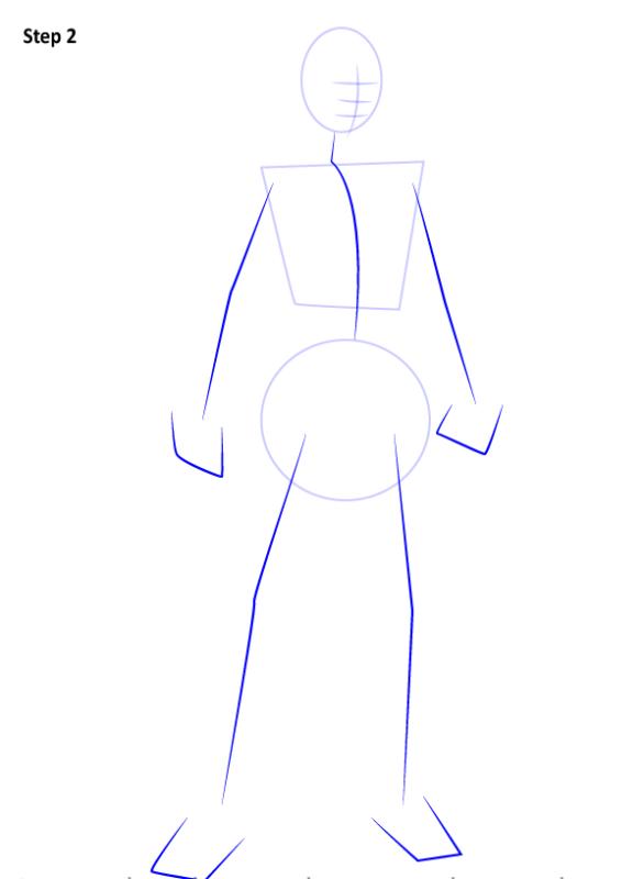 Как нарисовать Джэки Бриггз 2
