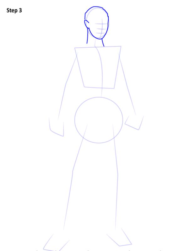 Как нарисовать Джэки Бриггз 3