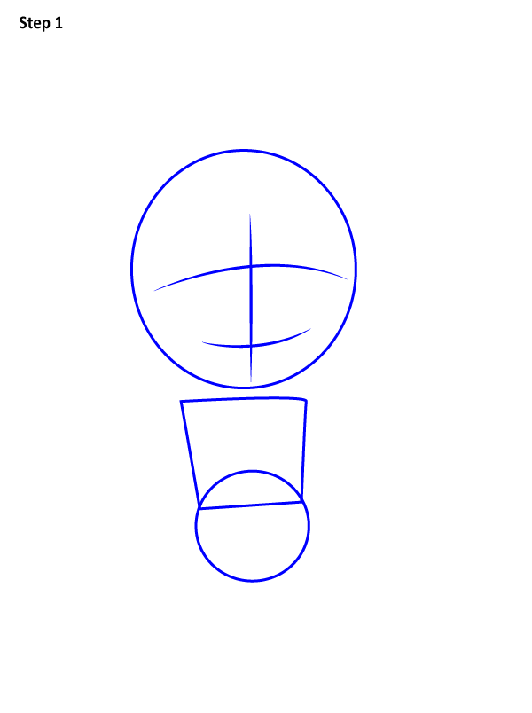 Как нарисовать милого Аладдина 1