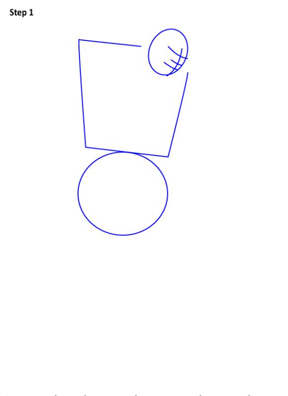 Как нарисовать Кена из Уличного бойца 1