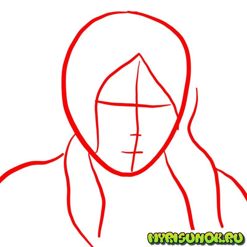 Как нарисовать Корру 32