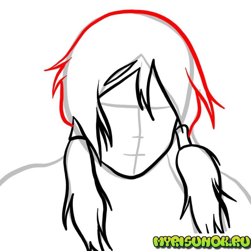 Как нарисовать Корру 35
