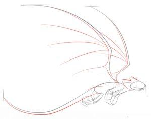 Как нарисовать Беззубика 5