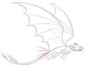 Как нарисовать Беззубика 6