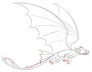Как нарисовать Беззубика 7