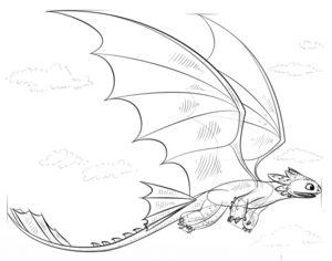 Как нарисовать Беззубика 8