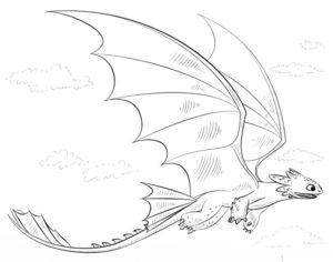Как нарисовать Беззубика 9