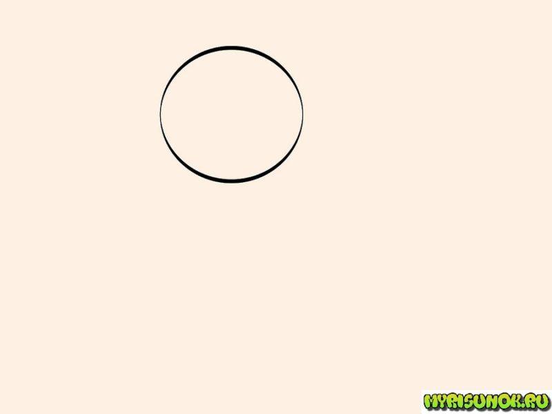 Как нарисовать беззубика 1