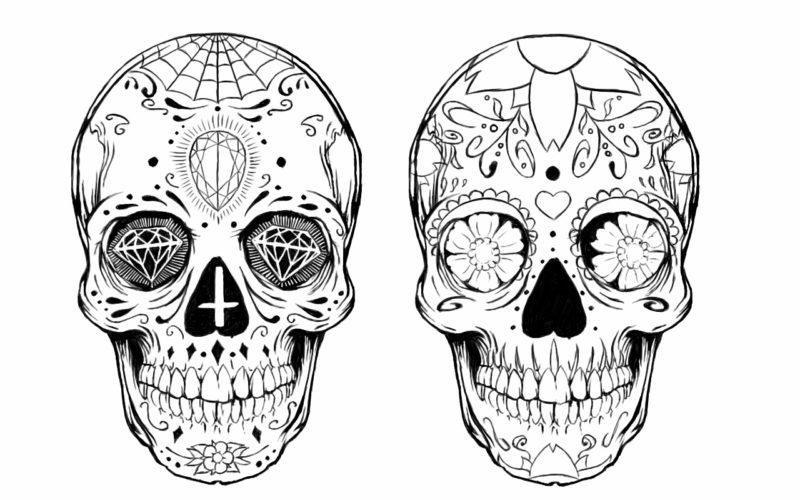 Мексиканские черепа 20