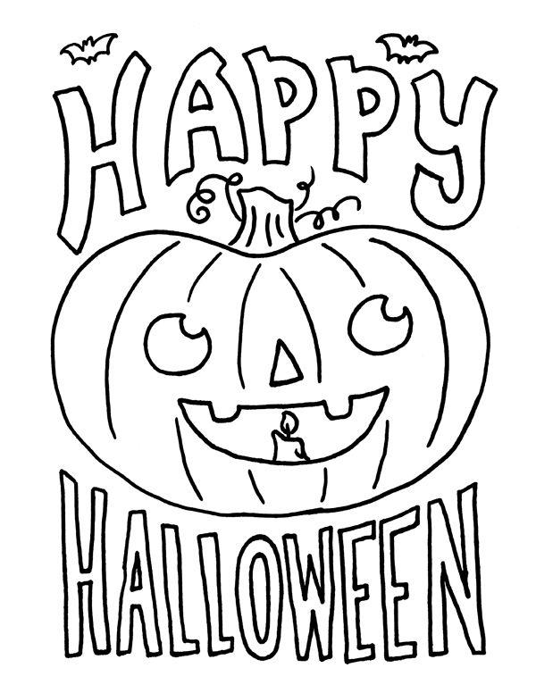 Срисовка Хеллоуина 10