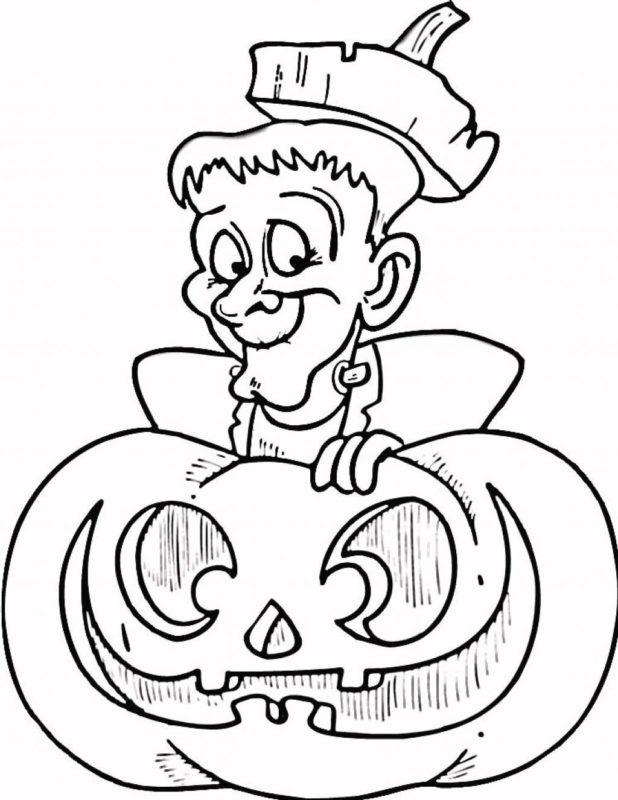 Срисовка Хеллоуина 12