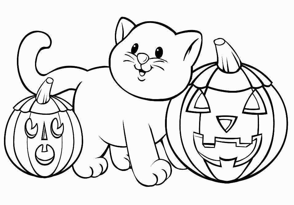 Срисовка Хеллоуина 16