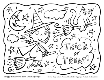 Срисовка Хеллоуина 18