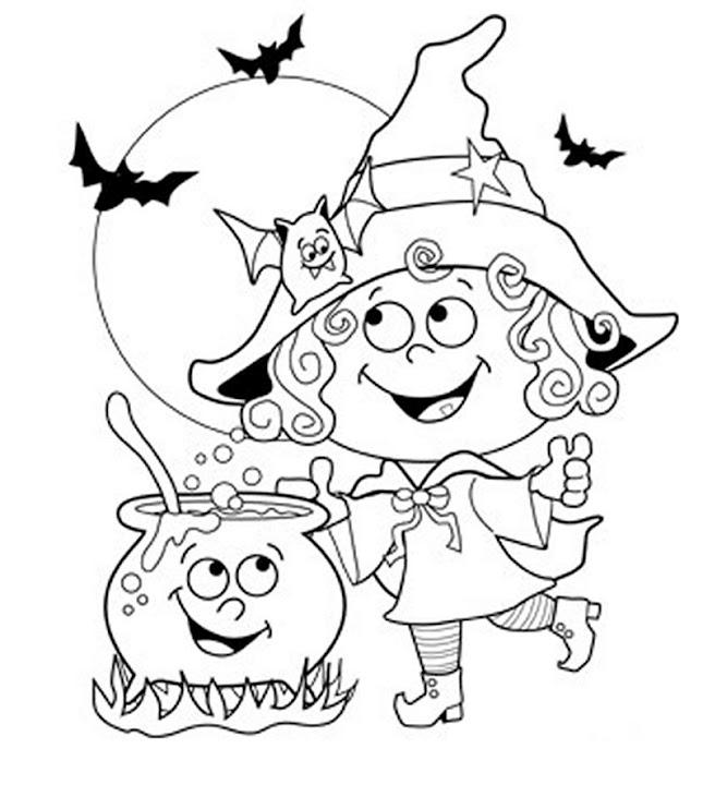 Срисовка Хеллоуина 23