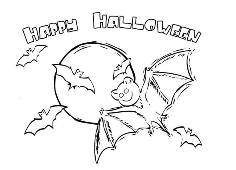 Срисовка Хеллоуина 4
