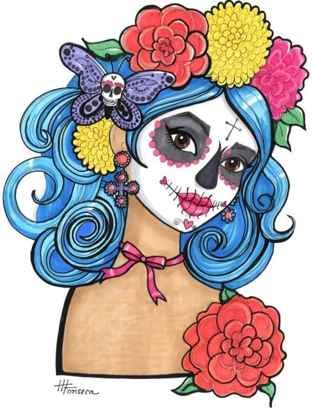 Мексиканские черепа 5