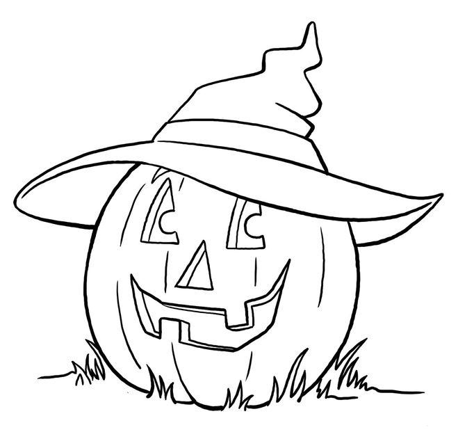 Срисовка Хеллоуина 6