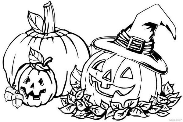 Срисовка Хеллоуина 8