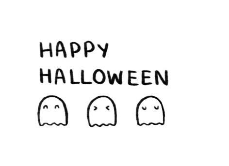 Срисовка Хеллоуина 9