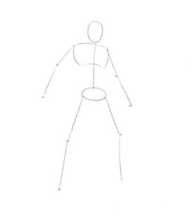 как нарисовать расу Эльдар 1