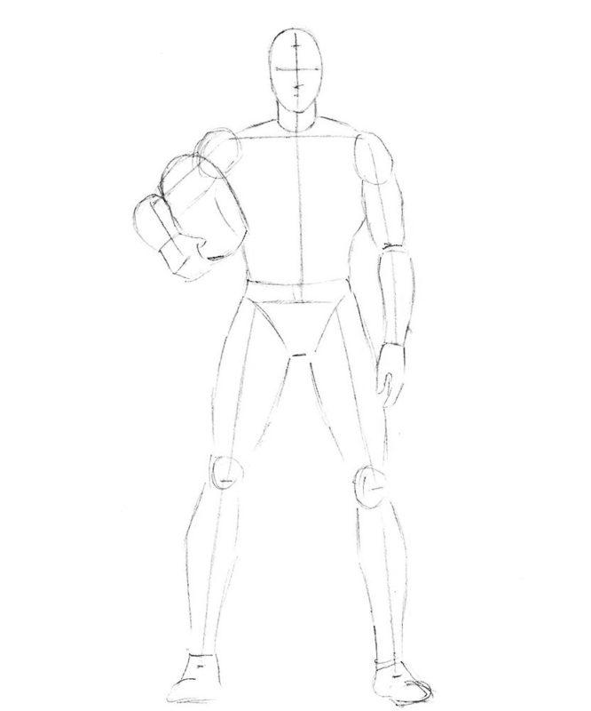 как нарисовать Магнето 2