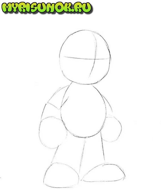 Как нарисовать Марио 2