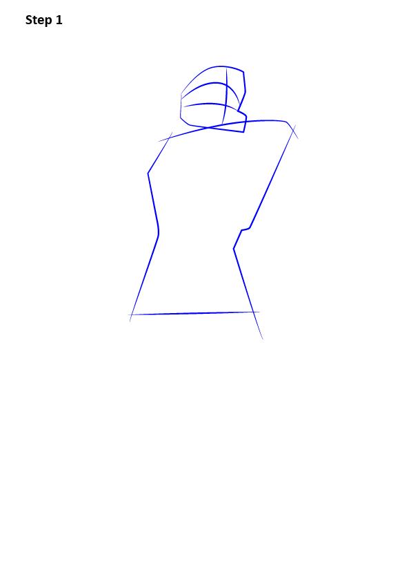 как нарисовать мастера Чифа 1