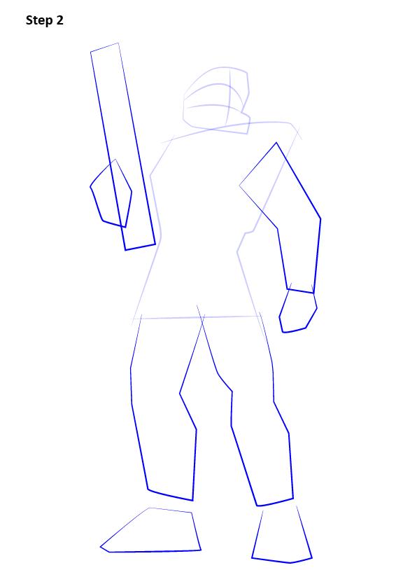 как нарисовать мастера Чифа 2