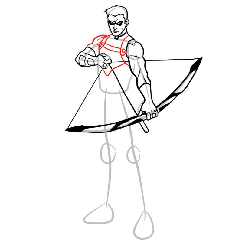Как нарисовать Роя Харпера 10