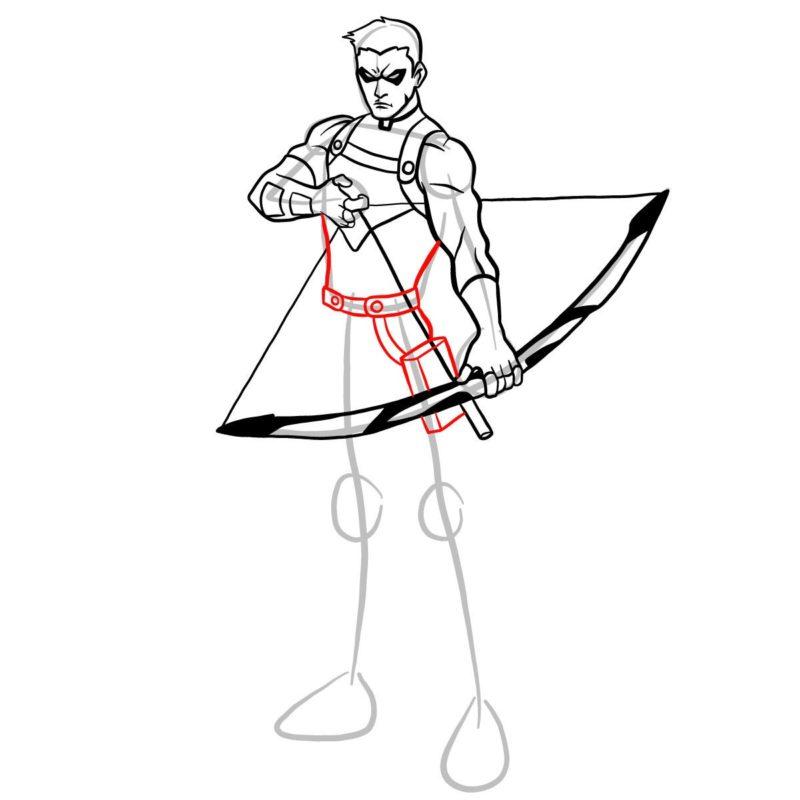 Как нарисовать Роя Харпера 11