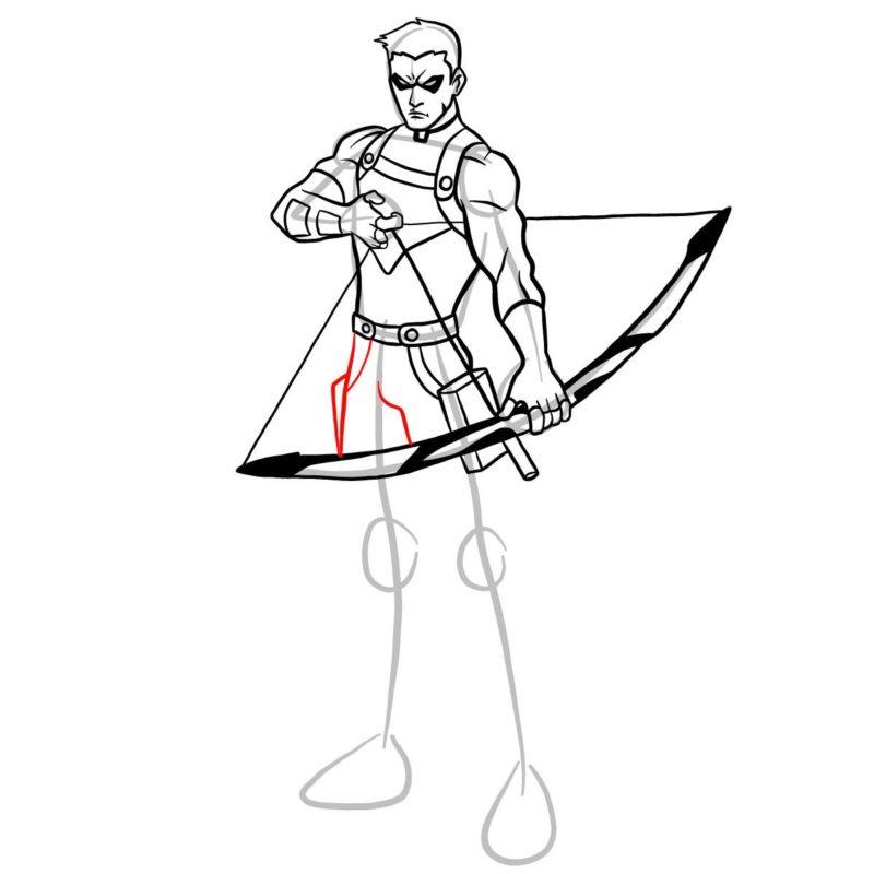 Как нарисовать Роя Харпера 12