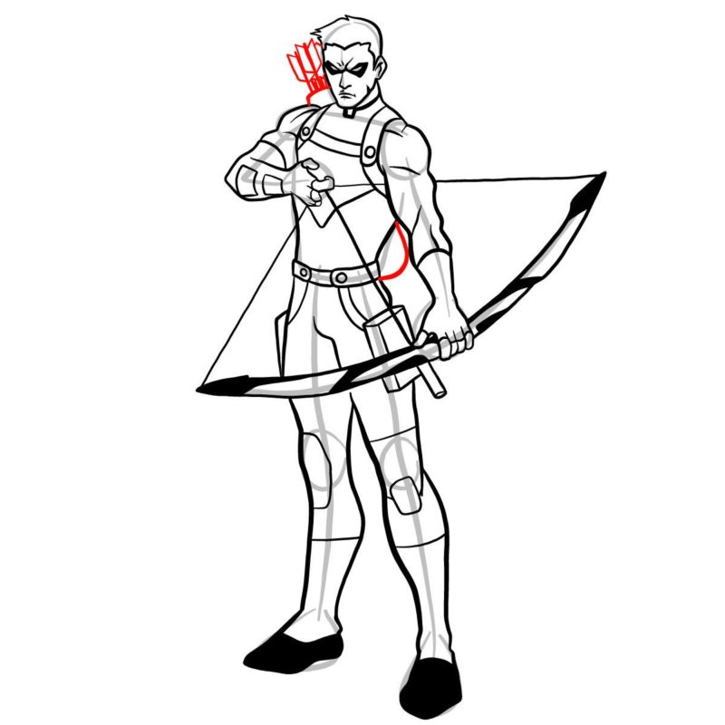 Как нарисовать Роя Харпера 15