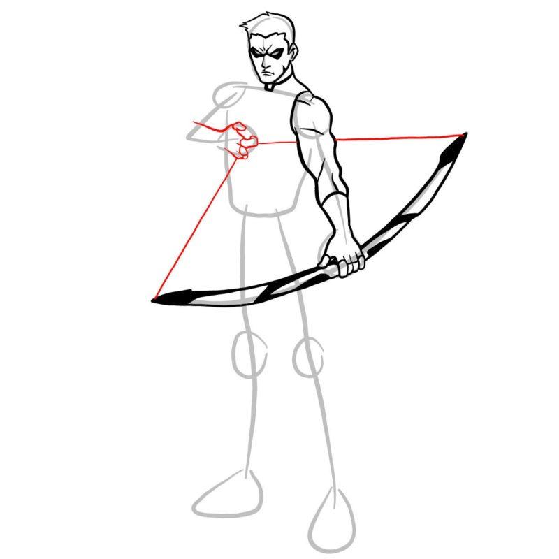 Как нарисовать Роя Харпера 8