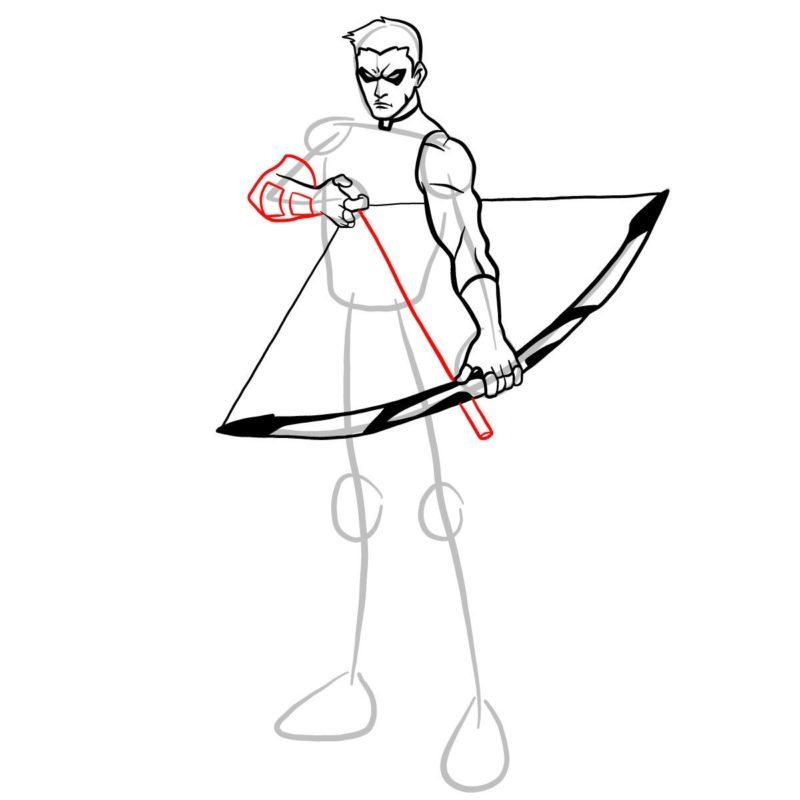 Как нарисовать Роя Харпера 9
