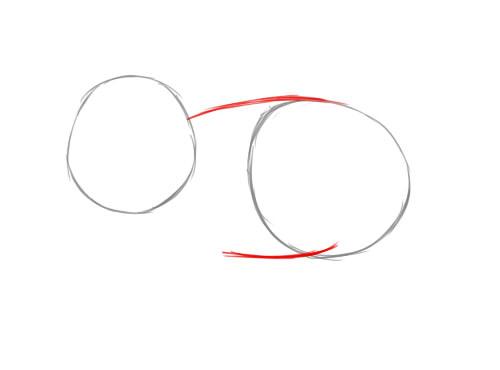Рисуем символ 2019 года 2