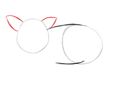 Рисуем символ 2019 года 3