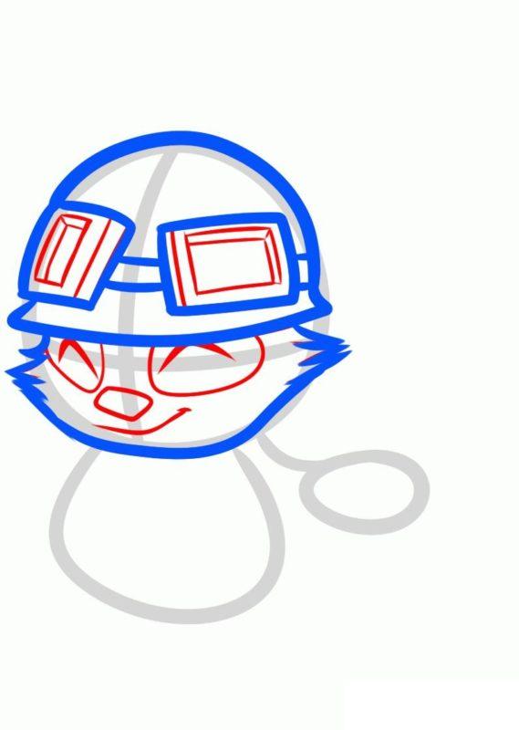 Как нарисовать Тимо 4