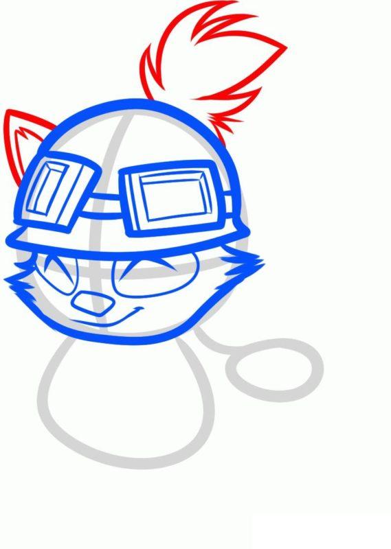 Как нарисовать Тимо 5