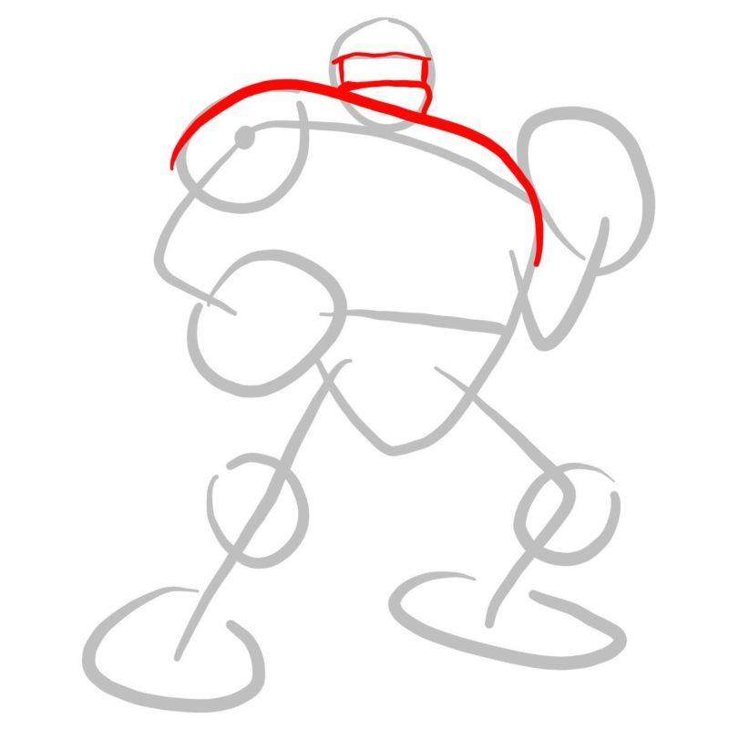 Как нарисовать Существо из Марвел 2