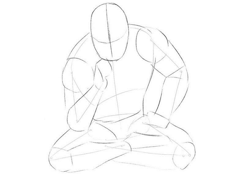 Как нарисовать Хорна из комикса 2