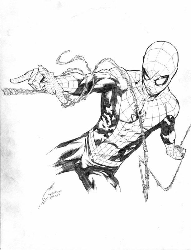 Срисовки Человека Паука 1