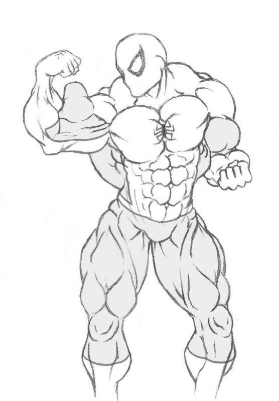 Срисовки Человека Паука 12