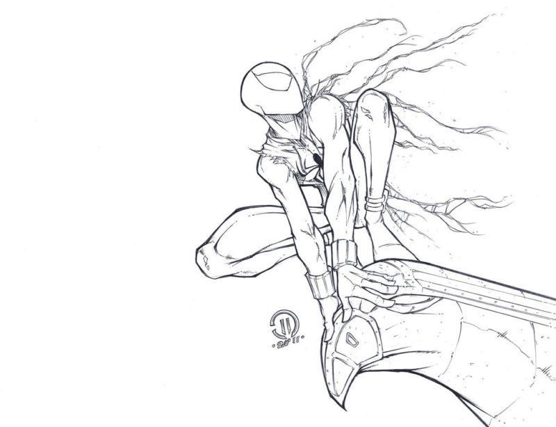 Срисовки Человека Паука 13