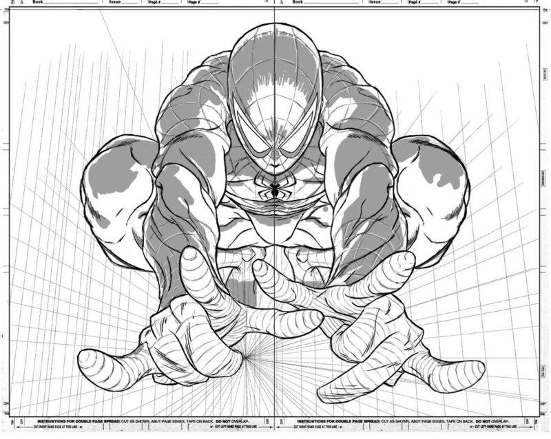 Срисовки Человека Паука 3
