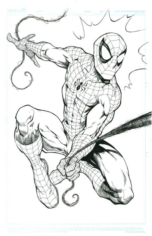 Срисовки Человека Паука 4