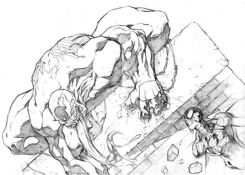 Срисовки Человека Паука 7
